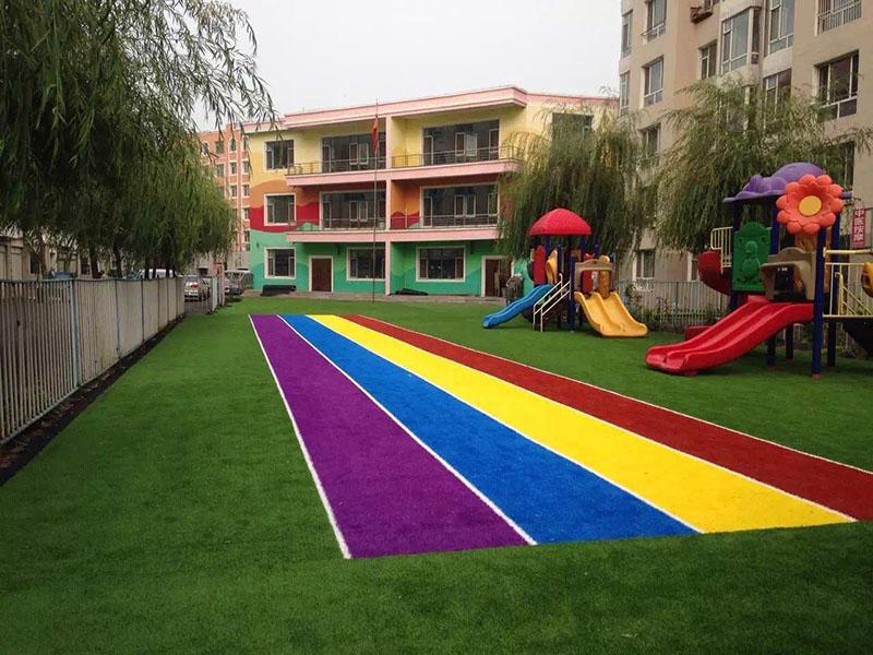 某幼儿园彩虹草坪