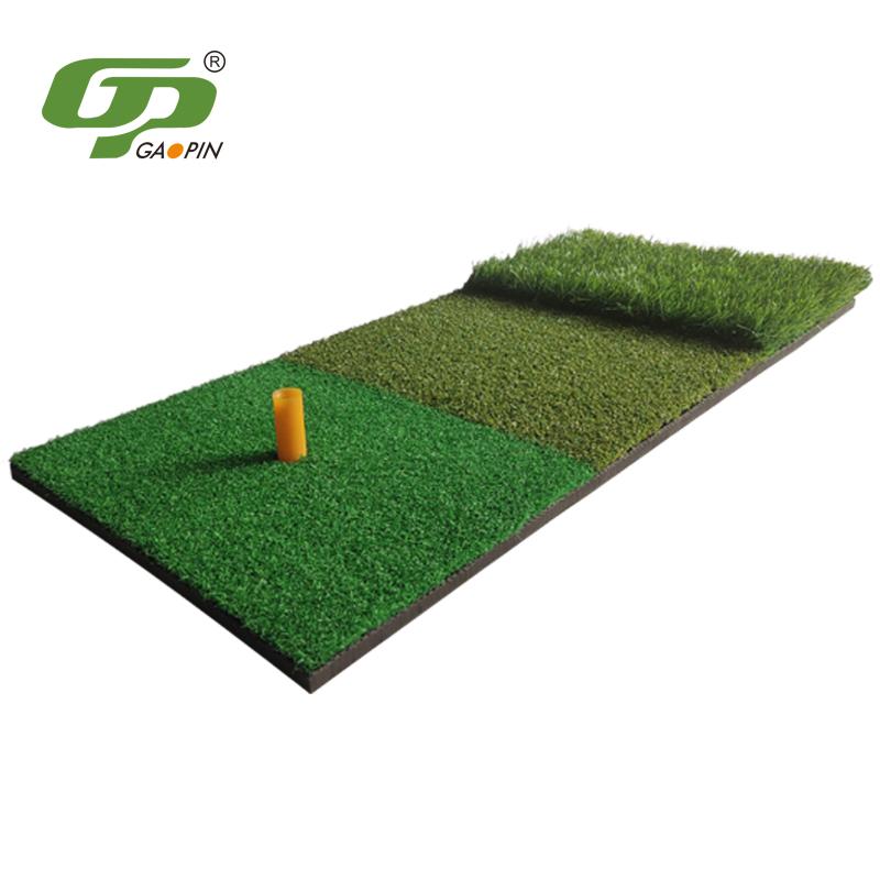 高尔夫三合一打击垫 个人挥杆垫