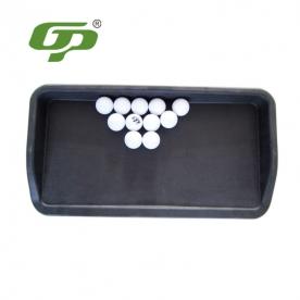 厂家直销 高尔夫PU橡胶硅发球盒 golf练习场用品 打击垫装球盒