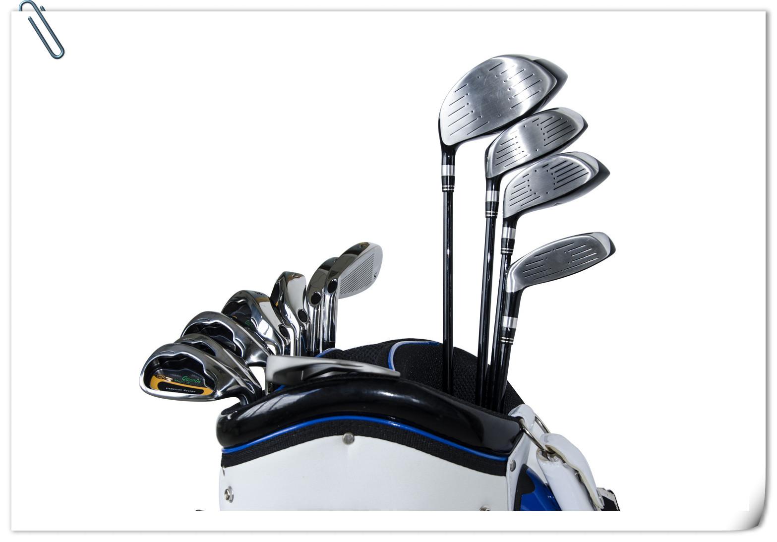高尔夫球杆细节图